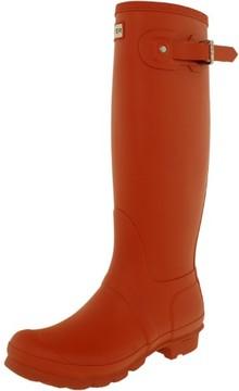 Hunter Tall Women US 5 Orange Rain Boot