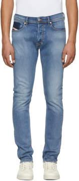 Diesel Blue Tepphar-R Jeans