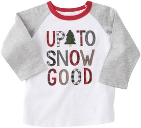 Mud Pie Up To Snow Good Long Sleeve Shirt Boy's Clothing