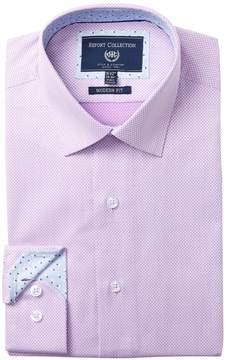 Report Collection Modern Fit Checkered Dress Shirt