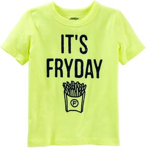 Osh Kosh Oshkosh Bgosh Boys 4-8 It's Fryday Graphic Tee