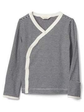 Gap Organic stripe kimono top