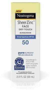 Neutrogena Sheer Zinc Sunscreen Face Lotion - SPF 50 - 2oz