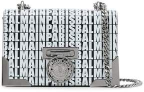 Balmain logo shoulder bag