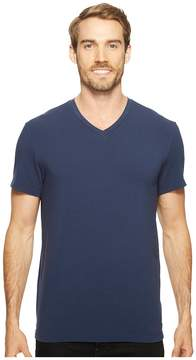 Kenneth Cole Sportswear Cotton Spandex V-Neck Tee Men's Clothing