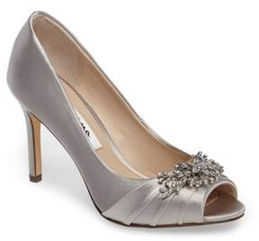 Nina Women's Rumina Embellished Peep Toe Pump