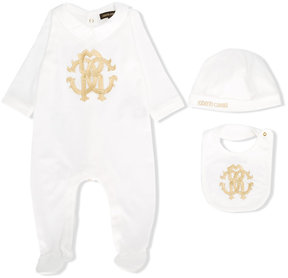Roberto Cavalli three-piece babygrow set