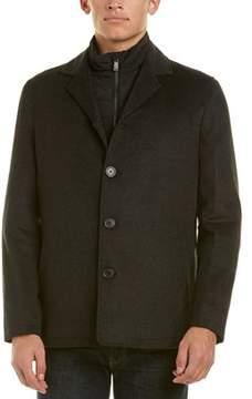 Hart Schaffner Marx Triple Play Wool-blend Coat.