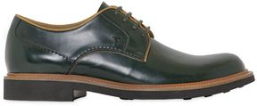 Tod's Leather Derby Lace-Up Shoes
