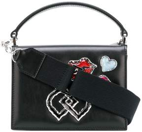 DSQUARED2 embellished DD mini shoulder bag