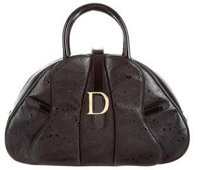 Christian Dior Textured Leather Bag