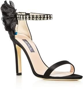 Sarah Jessica Parker Leila Embellished High Heel Sandals