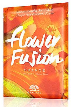Origins Flower FusionTM Orange Radiance-Boosting Sheet Mask