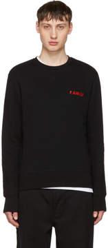 Ami Alexandre Mattiussi Black F.Ami.Ly Sweatshirt