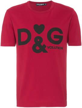 Dolce & Gabbana Heart logo t shirt