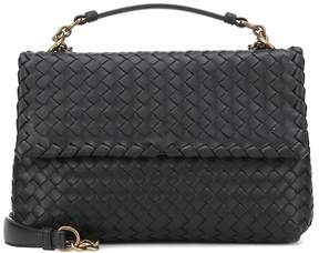 Bottega Veneta Small Olimpia intrecciato leather shoulder bag