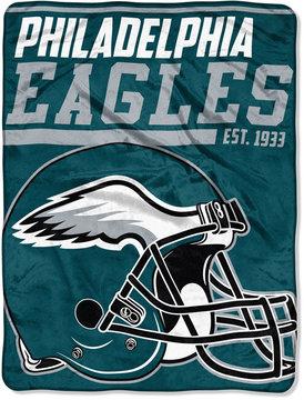 Northwest Company Philadelphia Eagles Micro Raschel 46x60 40 Yard Dash Blanket