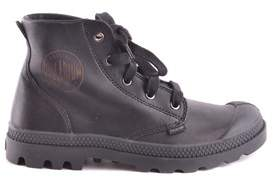 Palladium Women's Black Leather Ankle Boots.