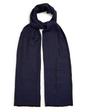 Bottega Veneta Bi-colour fringed silk-blend scarf