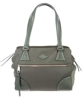 MZ Wallace Leather-Trimmed Nylon Shoulder Bag