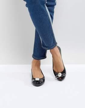 Melissa Black Ultragirl Pin Black Shoes