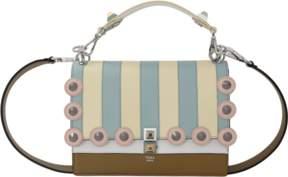 FENDI Marquetry Studded Handbag