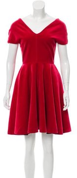Emilio De La Morena Velvet Evening Dress w/ Tags