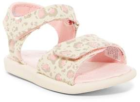 Toms Cat Print Strap Sandal (Baby, Toddler, & Little Kid)