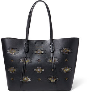 Polo Ralph Lauren Microstud Nappa Leather Tote