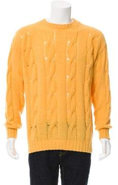 Malo Cashmere Cable Knit Sweater