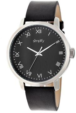 Simplify The 4200 Collection SIM4202 Stainless Steel Analog Watch
