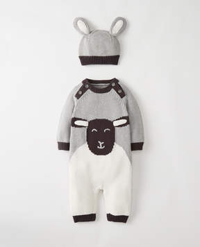 Hanna Andersson Lamby Sweater Set In Organic Cotton