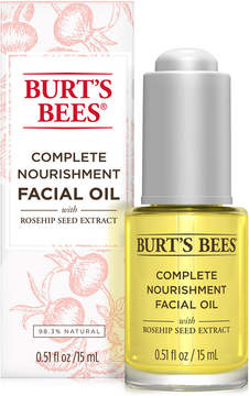 Burt's Bees Complete Nourishment Facial Oil, 0.5 oz