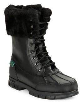 Lauren Ralph Lauren Quinta Shearling-Lined Boots
