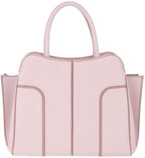 Tod's Sella Large Tote Leather Lilac