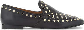 Sandro Bary studded leather loafers