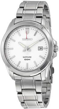 Seiko Neo Classic White Dial Stainless Steel Men's Watch