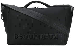 DSQUARED2 logo patch holdall