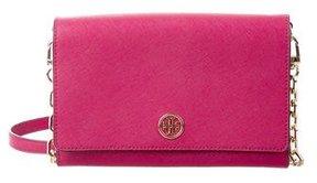 Tory Burch Mini Robinson Shoulder Bag - PINK - STYLE