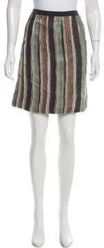 Doo.Ri Raw-Edge Silk Skirt