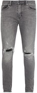 Neuw Rebel distressed skinny jeans