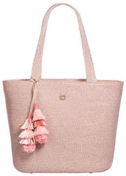 Eric Javits Squishee® Shoulder Tote Bag with Tassels