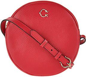 C. Wonder Round Canteen Leather Crossbody Handbag