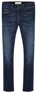 DL1961 Girl's Chloe Distressed Skinny Jeans