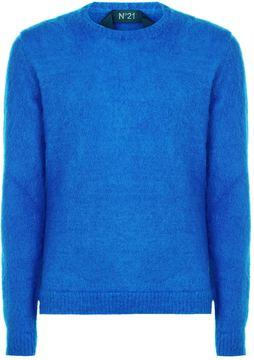 N°21 N 21 Long Sleeve Crew Neck Sweater