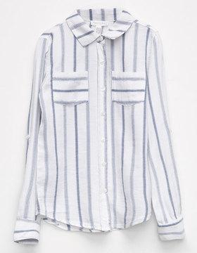Full Tilt Stripe Girls Camp Shirt