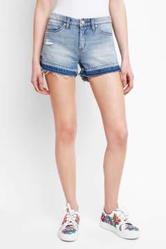 Blank Released Hem Denim Shorts