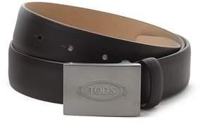 Tod's Men's Brown Leather Belt.