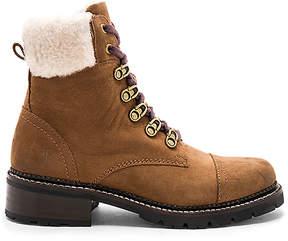 Frye Samantha Shearling Hiker Boot