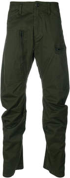 G Star G-Star slouchy zip detail trousers
